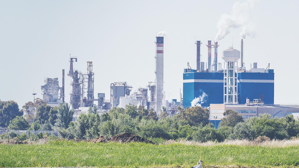chemical plant outside