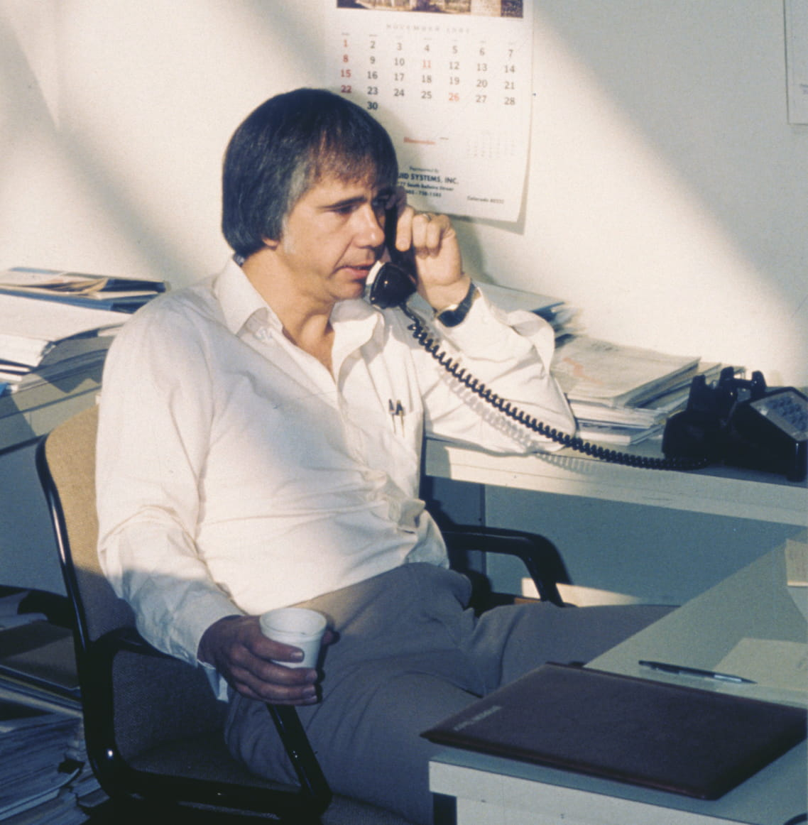 "Dr. Kennedy in 1983. His vision of an ""industrial desktop"" grew into the market-leading data management platform for industrial operations."