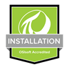 Green PI System installation specialist badge OSIsoft accredited